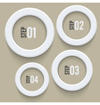 Enhanced Web Icons Elements vector image