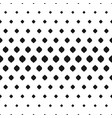 geometric seamless pattern halftone effect vector image vector image
