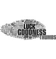 goodness word cloud concept vector image vector image