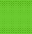 green abstract halftone dot pattern background vector image vector image