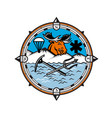 moose pararescue mascot vector image vector image