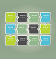 progress background template for diagram graph vector image vector image