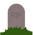 rip grave icon vector image vector image