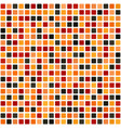 rounded square pattern seamless background vector image vector image