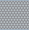 seamless geometric pattern in retro blue colors vector image vector image