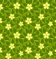 tropical pattern green leafs vector image