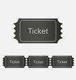 raffle ticket icon vector image
