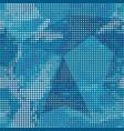 blue points texture vector image