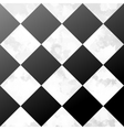 Ceramic chessboard floor vector image