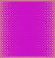 pink abstract halftone dot pattern background vector image vector image