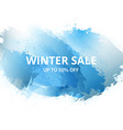 winter-sale-up vector image vector image