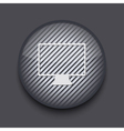 App circle striped icon on gray background eps 10 vector | Price: 1 Credit (USD $1)