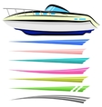 Boat Graphics vector image vector image
