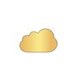 Cloud computer symbol vector image