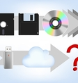 comp disk vector image vector image