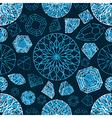 diamonds seamless grunge 03 vector image vector image