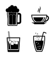 Drinks digital design vector image vector image