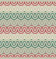 geometric pattern with abstract waves vector image vector image