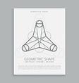 sacred geometry shape vector image
