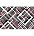 Trendy Contrast Geometric Seamless Pattern vector image