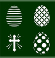 Four easter plotter cutting templates