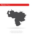 map venezuela isolated black vector image vector image