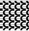 pattern letter c vector image vector image