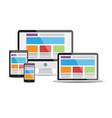 responsive web design7 vector image