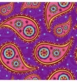 Seamless paisley texture vector image