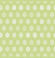 tender light green pattern with easter eggs vector image