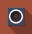 Music icons soundbox v vector image