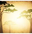 Africa Acacia Tree vector image