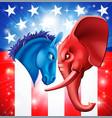 american politics concept vector image