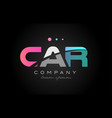 car c a r three letter logo icon design vector image vector image