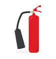 fire extinguisher icon design vector image vector image