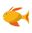 fish sideview icon image vector image vector image