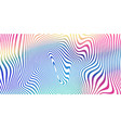 liquid color blend background holographic vector image vector image