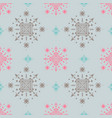 lovely seamless pattern in pastel colors vector image vector image