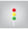 Traffic lights icon vector image