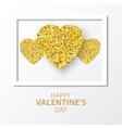 Valentines day card for vector image vector image