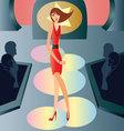catwalk-fashion vector image