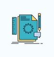 creative design develop feedback support flat vector image
