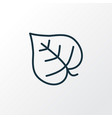 lilac leaf icon line symbol premium quality vector image