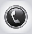 phone button design vector image vector image