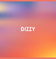 square blurred background - sunset colors with vector image