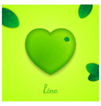 Sweet lime vector image