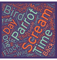 Why do birds scream text background wordcloud