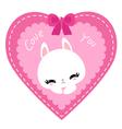 bunny 06 vector image
