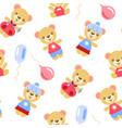 cartoon bears vector image vector image