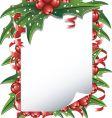 Christmas list vector image vector image